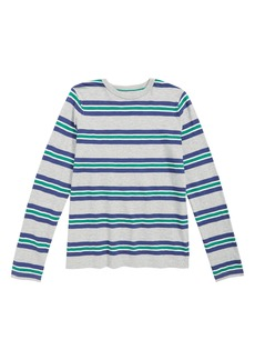Mini Boden Slub Stripe T-Shirt (Toddler Boys, Little Boys & Big Boys)