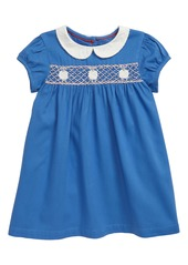 Mini Boden Smocked Dress (Baby)