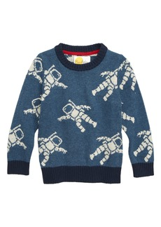 Mini Boden Space Explorer Crewneck Sweater (Toddler Boys, Little Boys & Big Boys)