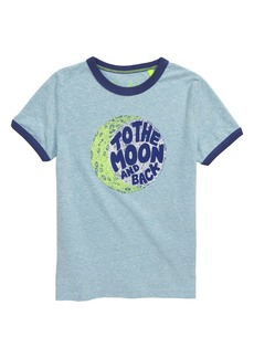 Mini Boden Space Graphic T-Shirt (Toddler Boys, Little Boys & Big Boys)