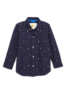 Mini Boden Space Party Shirt (Toddler Boys, Little Boys & Big Boys)