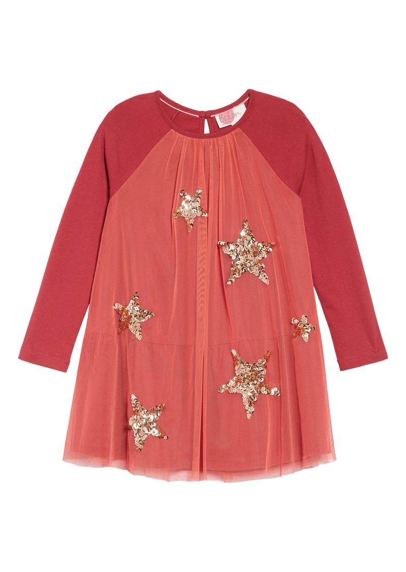 866ede91a Mini Boden Sparkle Mesh Dress (Toddler Girls, Little Girls & Big Girls)