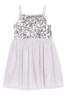 Mini Boden Sparkly Tulle Ballerina Dress (Little Girls & Big Girls)