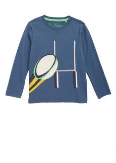 Mini Boden Sports Appliqué T-Shirt (Toddler Boys, Little Boys & Big Boys)