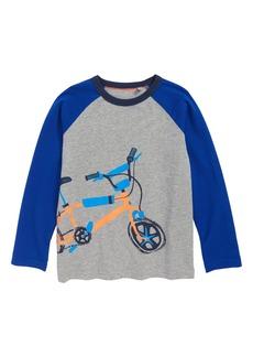 Mini Boden Sporty Raglan Graphic T-Shirt (Little Boys & Big Boys)