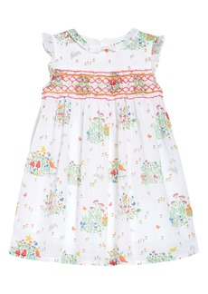 Mini Boden Spring Scene Dress (Toddler, Little Girl & Big Girl)