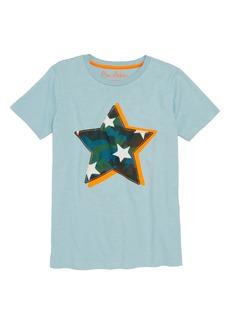 Mini Boden Star Appliqué T-Shirt (Toddler Boys, Little Boys & Big Boys)