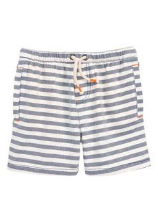 Mini Boden Stripe Drawstring Shorts (Toddler Boys, Little Boys & Big Boys)