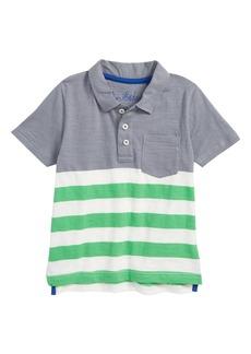 Mini Boden Stripe Polo (Toddler Boys, Little Boys & Big Boys)