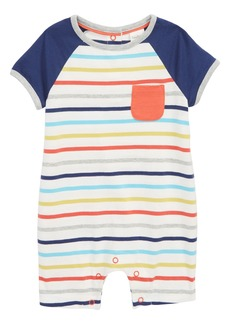 Mini Boden Stripe Romper (Baby Boys)