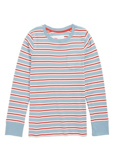 Mini Boden Stripe Shirt (Toddler Girls, Little Girls & Big Girls)