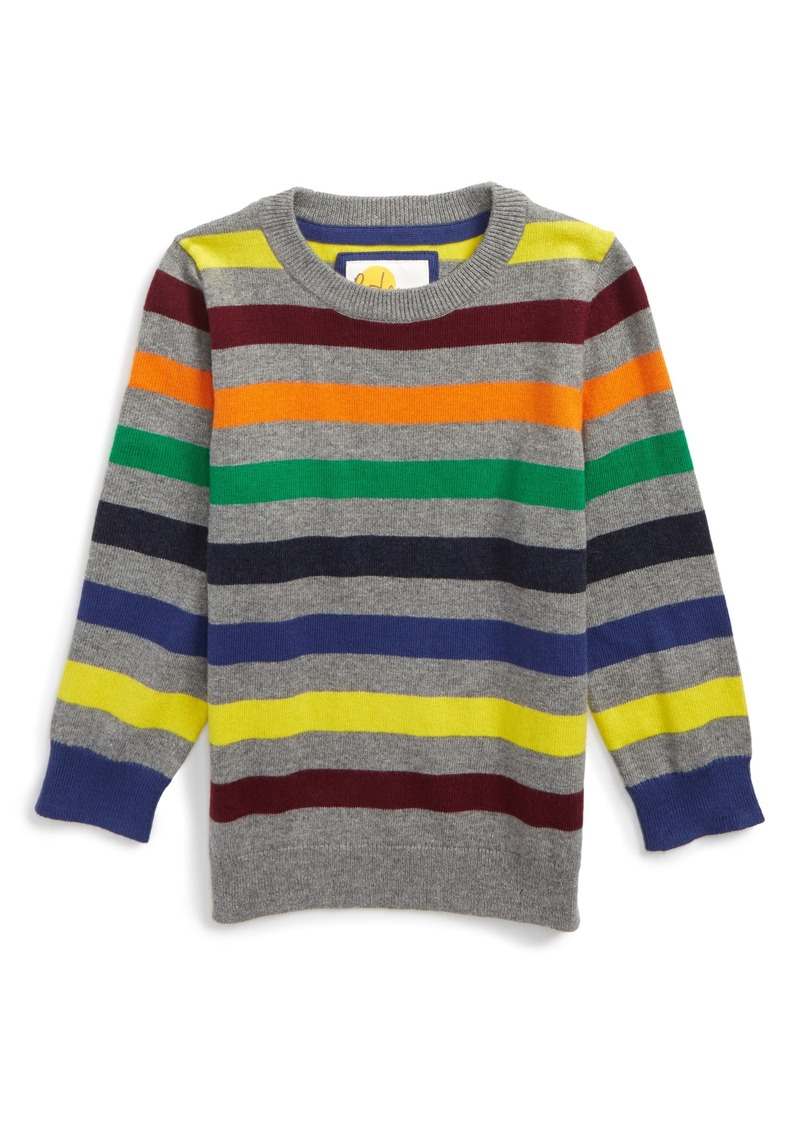 Mini boden mini boden stripe sweater toddler boys little for Mini boden sale deutschland