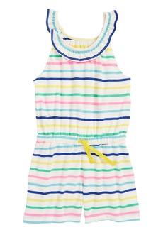 Mini Boden Striped Jersey Romper (Toddler Girls, Little Girls & Big Girls)