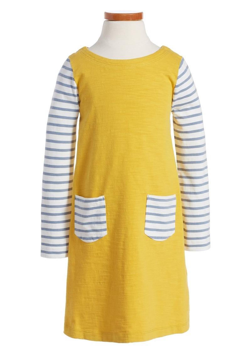 Mini Boden 'Stripy' Dress (Toddler Girls, Little Girls & Big Girls)