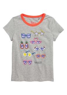 Mini Boden Summer Fun Graphic Tee (Little Girls & Big Girls)