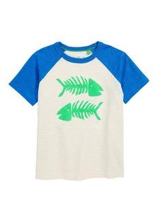 Mini Boden Summer Raglan T-Shirt (Toddler Boys, Little Boys & Big Boys)