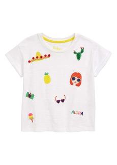 Mini Boden Sunny Days Graphic Tee (Little Girls & Big Girls)