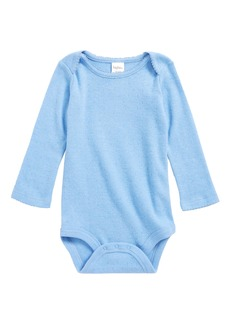 Mini Boden Supersoft Pointelle Bodysuit (Baby & Toddler)