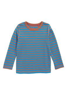 Mini Boden Supersoft Stripe T-Shirt (Toddler Boys, Little Boys & Big Boys)