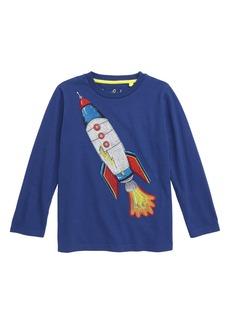 Mini Boden Superstitch Dino T-Shirt (Toddler Boys, Little Boys & Big Boys)