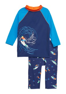 5bfa465a4c Mini Boden Surf Suit Two-Piece Rashguard Swimsuit (Toddler Boys, Little Boys  &