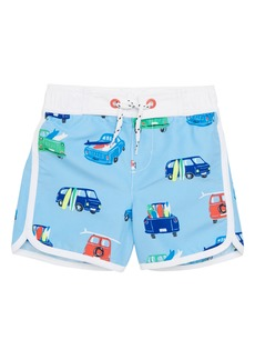 Mini Boden Swim Trunks (Toddler Boys, Little Boys & Big Boys)