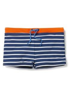Mini Boden Swim Trunks (Toddler Boys, Little Boys & Big Boys)
