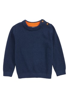 Mini Boden Textured Sweater (Toddler Boys, Little Boys & Big Boys)