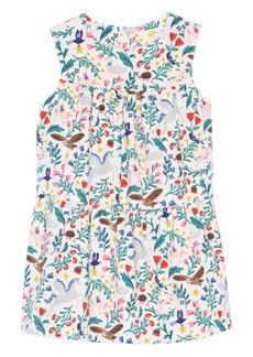 Mini Boden Tiered Corduroy Dress (Baby Girls & Toddler Girls)