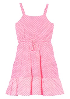 Mini Boden Tiered Strappy Woven Dress (Little Girls & Big Girls)