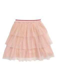 Mini Boden Tiered Tulle Party Skirt (Toddler Girls, Little Girls & Big Girls)
