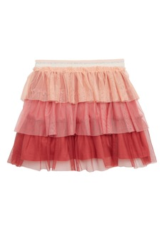 Mini Boden Tiered Tulle Skirt (Toddler Girls, Little Girls & Big Girls)