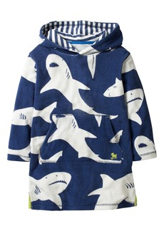 Mini Boden Towelling Hooded Pullover (Toddler Boys, Little Boys & Big Boys)