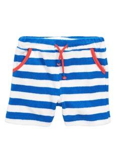 Mini Boden Towelling Shorts (Baby Boys & Toddler Boys)