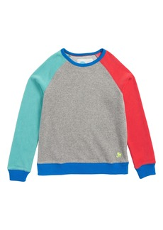 Mini Boden Towelling Sweatshirt (Toddler Boys, Little Boys & Big Boys)