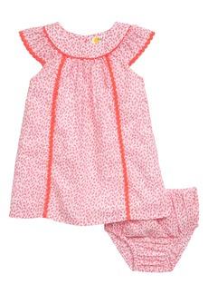 Mini Boden Tropical Print Dress (Baby)