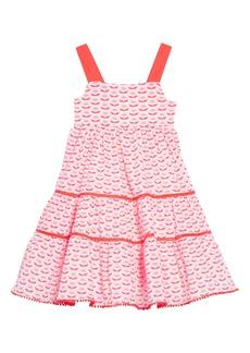 Mini Boden Twirly Tiered Dress (Toddler Girls, Little Girls & Big Girls)