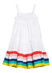 Mini Boden Twirly Woven Dress (Toddler Girls, Little Girls & Big Girls)