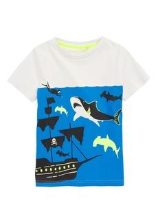 Mini Boden Underwater Screenprint T-Shirt (Toddler Boys, Little Boys & Big Boys)
