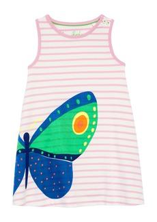 Mini Boden Vacation Appliqué Dress (Toddler Girls, Little Girls & Big Girls)