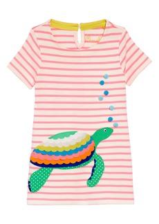 Mini Boden Vacation Appliqué Jersey Dress (Toddler Girls, Little Girls & Big Girls)