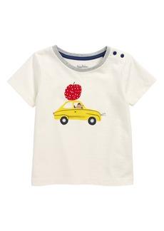 Mini Boden Vehicle Print T-Shirt (Baby Boys)