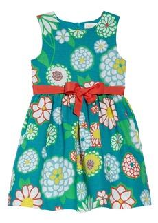 Mini Boden Vintage Linen & Cotton Dress (Toddler Girls, Little Girls & Big Girls)