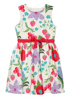 Mini Boden Vintage Linen & Cotton Dress (Toddler Girls, Little Girls & Big Girls)