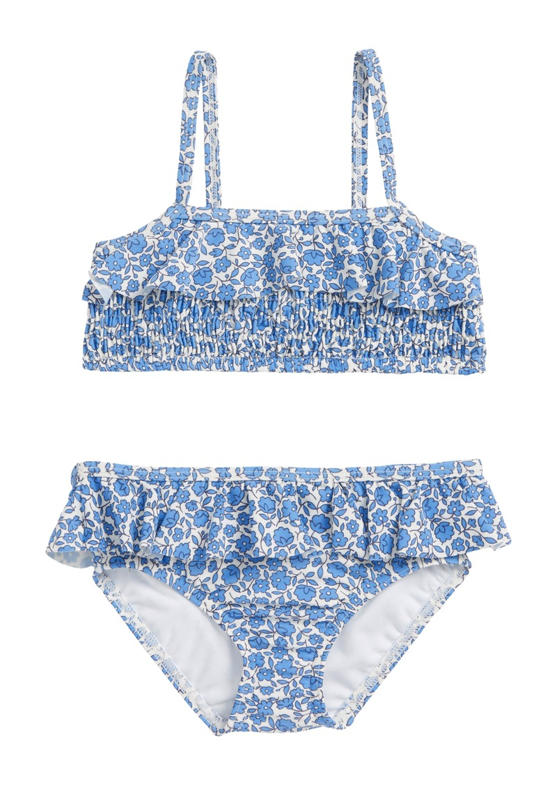 a8be502d Mini Boden Vintage Two-Piece Swimsuit (Toddler Girls, Little Girls & Big  Girls