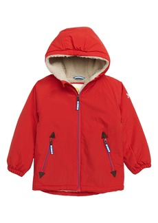 Mini Boden Water Resistant Lined Hooded Parka (Toddler Boys, Little Boys & Big Boys)