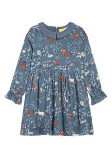 Mini Boden Woodland Print Dress (Toddler Girls, Little Girls & Big Girls)