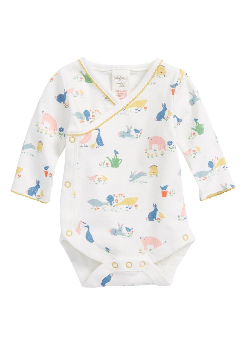 d17aac147b8 Mini Boden Mini Boden Wrap Bodysuit (Baby Girls)