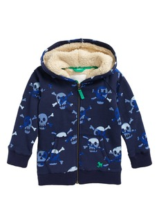 Mini Boden Zip Hoodie (Toddler Boys, Little Boys & Big Boys)