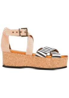Minimarket 'Mirage' platform sandals